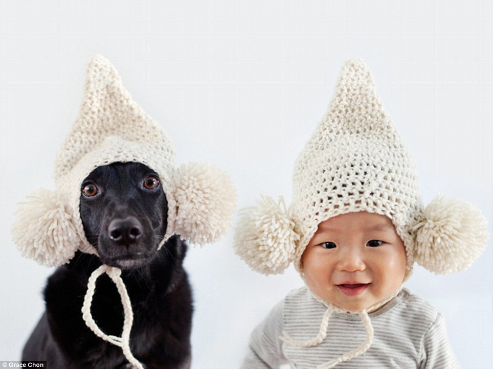 baby and dog 3